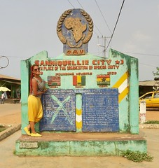 """Sanniquellie: first city I visited in Liberia.  Nimba county. Liberia  March 2017 #itravelanddance • <a style=""""font-size:0.8em;"""" href=""""http://www.flickr.com/photos/147943715@N05/33502054992/"""" target=""""_blank"""">View on Flickr</a>"""