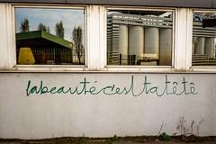 Pantin, France (Matyeuh) Tags: pantin france canal indus industriel tag graf message beauté mur wall beauty belezza cabeza head tête graffiti