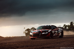 ATE Brakes - Vinhman Photo (VinhmanPhoto) Tags: green audi r8 red dirt quarry drift supercar vinhman atebrakes