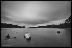 Lake Purdy late afternoon (r.yuill) Tags: monochrome blackwhite bw long exposure lake purdy