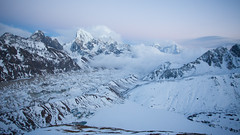 gokyo ri (s.v.e.n.) Tags: gokyo ri nepal sagarmatha national park everestbasecamp trekking himalaya arakamtse frozenlake ngozumpa glacier canon 5dmkii 1740mm