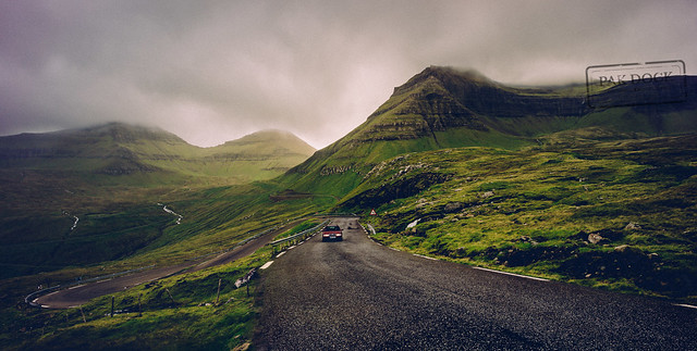 On the way to Gjogv - Faroe Islands