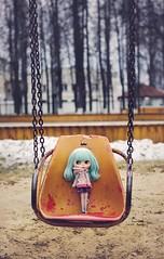 In emty spring park