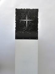 Anna Lorenz - Altar-Piece - 1 (the justified sinner) Tags: justifiedsinner altar piece annalorenz steel iron cross square cubepanasonic 17 20mm gx7 birmingham westmidlands cityuniversity bcu schoolofjewellery