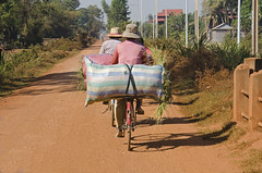 Hauling Bags Of Stubble (doug-craig) Tags: cambodia cambodia20170129dng asia siemreap travel journalism photojournalism people d7000 nikon dougcraigphotography