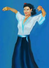 Sonrisa (Smile) (Pat McDonald) Tags: flavio~ albaicin andalucía andalus argentina artrage bailaora bailaoras bailar bale ballerina ballet ballo flamenco españa digitalart danse dance castanet buenosaires bsas gibraltar gitana guapa guapísima guitarist mediterraneanfleet laserenissima lalíneadelaconcepción israel intensity porteña porteño spain seville sevilla royalnavy