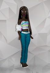 Black Diva (JadeBratz18) Tags: bratz scene myscene fashion fashiondoll fashiondolls doll dolls dollhair dollcollector dollcollection dollmodel dollphotography diva black dark skin beauty beautiful barbie mattel