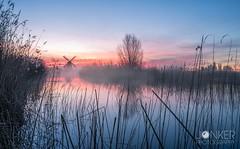 'Rise before the sun' (melvinjonker) Tags: sony nature landscape aky water molen mill sunrise sun noorddijk holland ergaatnietsbovengroningen groningen