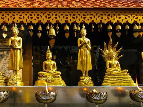 offrandes, Chiang Mai, Thaïlande