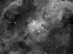 Heart of the Heart Nebula IC 1805 (Bright Sky Photography) Tags: atikccd 314l heart ic1805 melotte15 astrophotography astronomy space nebula cassiopeia equinox80 skywatcher eq5 stars deepspace mono hydrogen ha hydrogenalpha astrometrydotnet:id=nova2016194 astrometrydotnet:status=solved