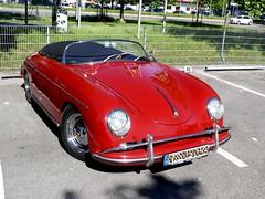 Porsche 356 A 1600 Speedster 1957 1582 ccm 60 PS (ludmillafan132) Tags: porsche porsche356 speedster car cars oldtimer rally auto autos vehicle vehicles 356er 356a beautifuloldtimer fahrzeuge rennwagen sportwagen
