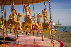 20170313-_MG_4600 (chrischampion2) Tags: brighton sea seaside beach pier palacepier westpier britishairwaysi360 horsecarousel fairgroundride carousel