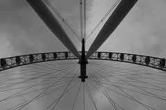 The London Eye (Choy Rosales) Tags: travel holiday euro trip museum paris london the eye eiffeltower thelouvre thelondoneye hobofrommanila
