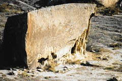 Gobustan, Azerbaijan - Gobustan National Park (Gobustan Rock Art Cultural Landscape) (jrozwado) Tags: europe eurasia caucasus azerbaijan azərbaycan gobustan qobustan gobustannationalpark qobustanmilliparkı unescoworldheritage rockart petroglyph