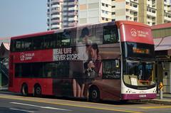 SBS Transit Volvo B9TL CDGE (nighteye) Tags: sbstransit 新捷运 volvo b9tl comfortdelgroengineering cdge euroiii sbs7302j service21 aia singapore bus