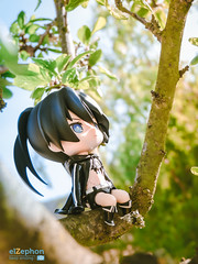Thinking (elZephon) Tags: anime beautiful blackrockshooter figurephotography goodsmilecompany japan kawaii nature nendomoe nendonesia nendoroid otaku outdoor toyphotography toys elzephon