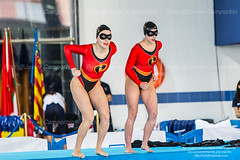 Sincronizada. XVIII Campeonato de España Junior y Senior de invierno (javiercamporbin) Tags: deportes sincronizada valladolid natacion