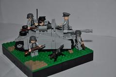 Sturmgeschütz III Ausf G (LAJNUS(SirBrick)) Tags: tank ww2 lego newmade germans army war