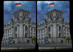 Reichstag in Berlin 3-D / Stereoscopy / CrossView / HDR / Raw (Stereotron) Tags: berlin spreeathen mitte metropole hauptstadt capital metropolis brandenburg city urban bundestag reichstag architecture capitol germany europe crosseye crosseyed crossview xview cross eye pair freeview sidebyside sbs kreuzblick 3d 3dphoto 3dstereo 3rddimension spatial stereo stereo3d stereophoto stereophotography stereoscopic stereoscopy stereotron threedimensional stereoview stereophotomaker stereophotograph 3dpicture 3dglasses 3dimage hyperstereo twin canon eos 550d yongnuo radio transmitter remote control synchron kitlens 1855mm tonemapping hdr hdri raw