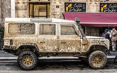 Urban safari color (alberto martucci) Tags: rover ragerover offroad milano downtown fuji x100s street 4x4