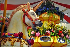 It's Always A Good Day When You See A Unicorn (Trish Mayo) Tags: unicorn carousel flowers flowershow macys macysflowershow2017 notrealanimals