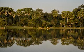 Cambodia - Reflections At Angkor Thom