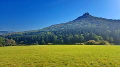 Hohenzollern castle (akovt) Tags: hohenzollern castle burg green blue greenblue