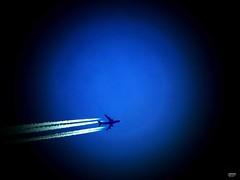 Flight Across the Blue Planet Earth (caren (Thanks for 1.5 Mio+ views)) Tags: aircraft flight planet planetearth sky blueplanet flugzumblauenplaneten blauerplanet flugzeug himmel flying