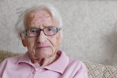 100 Years (österreich_ungern) Tags: woman granny 100 years portrait old very
