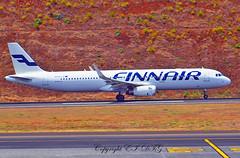 Airbus A321-231 OH-LZI Finnair (EI-DTG) Tags: planespotting aircraftspotting fnc funchalairport madeira funchal 13jul2015 airbus finnair ohlzi a321 airbus321