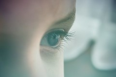 Precious (tanyalinskey) Tags: beautiful 7dwf grandson boy eyelashes eye closeup macro
