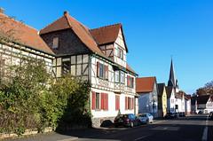 Dorf, Wetterau 2016 (Spiegelneuronen) Tags: wetterau dorf architektur ortsbild