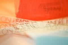 on reading: homage to André Kertész (gagasue) Tags: macromondays intentionalblur andrékertész onreading books booksinmotion
