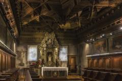 Capilla del sagrado Corazon. (Catedral de Cuenca) (Capuchinox) Tags: capilla catedral cathedral church cuenca canon nik chapell interior arte art dodgeburn dodge burn