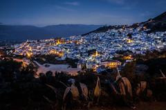 20170409 Chefchaouen 013 (blogmulo) Tags: longexposure night blue travel chaouen sunrise morocco chefchaouen
