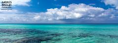 El día de la tierra. (Andres Breijo http://andresbreijo.com) Tags: playa beach mar sea colores colors nubes clouds nublado cloudy transparente transparent isla island formentera baleares balearic españa spain
