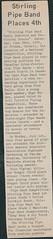 Stirling Pipe Band Pine Falls Newspaper Articles-21 (Hugh Peden) Tags: stirling pipe band pine falls manitoba major william bill macleod