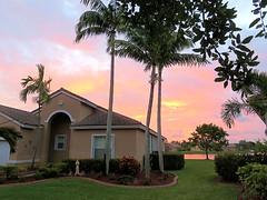 Sunrise at mi casa 20170422 (Kenneth Cole Schneider) Tags: florida miramar westmiramarwca
