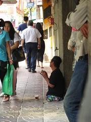 Legless man - Bangkok, Thailand (ashabot) Tags: street people thailand seasia bangkok streetscenes