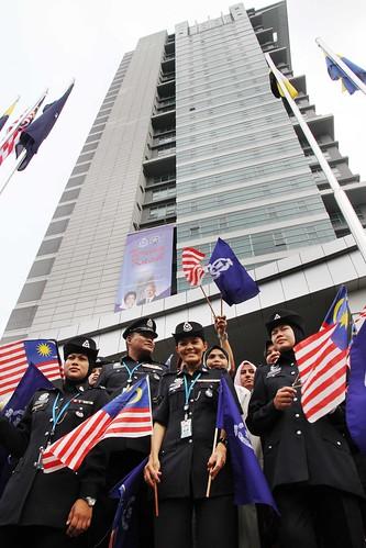 Majlis Perasmian Bangunan Menara 1 Ibu Pejabat Polis Bukit Aman