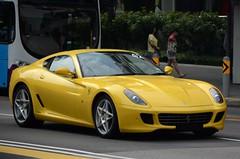 Ferrari 599 GTB (nighteye) Tags: singapore ferrari gtb 599