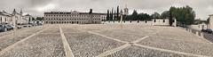 Paço Ducal de Vila Viçosa (António Alfarroba) Tags: square real royal palace panoramic panoramica praça pan marble stitched paço palácio terreirodopaço vilaviçosa mármore duquesdebragança
