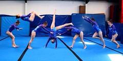 Fliptastic #10 (Amy Louise97) Tags: blue girl face canon vintage wow hair amazing jump nikon shiny pretty purple arms legs 10 retro flip gymnastics tied gym gymnasium leotard flipping facials iphone 365challenge