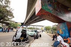 chicano park 1-2215 (tweaked.pixels) Tags: bridge cars sandiego overpass chicanopark easterweekend pixelfixel tweakedpixels ©2014kathygonzalez