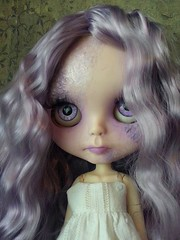 Violet the little ghost girl (shepuppy) Tags: ghost lavender blythe tbl pure neemo shepuppy