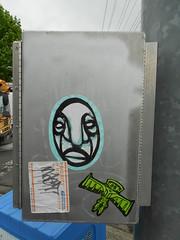 nast (695129) Tags: street old streetart west art vancouver graffiti coast washington artwork sticker nw mail state pacific northwest label tag tags faded older wa slap usps graff westcoast pnw deteriorated nasty 228 nast mailing prioritymailart label228 label228art maillabelart