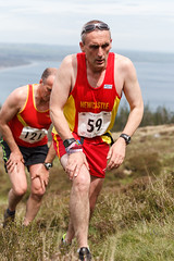 Slieve Donard Race 2014-6112 (cmcm789) Tags: county ireland sea sky irish mountain black mountains water grass stairs race forest canon newcastle landscape athletics lough dale hill may down running climbing land runners series hd northern fell mourne 2014 slieve mournes donard blackstairs slievedonard hillanddale