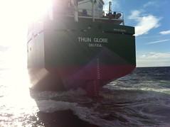 Thun Globe leaving Falkenberg