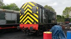 D3201 at Kidderminster (Decibel Dave) Tags: britishrail severnvalleyrailway shunter kidderminster britishrailways jocko englishelectric diesellocomotive class08 08133 d3201