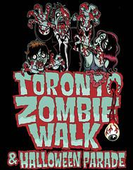 Toronto Zombie Walk (Tom Bagley) Tags: toronto canada calgary illustration ink blood zombie cartoon eerie creepy eyeball gore horror macabre veins zombies guts ooky tombagley brushwork torontozombiewalk outstretchedhands canadiancontent sexyzombie